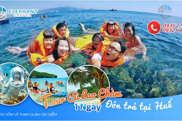 Tour Cù Lao Chàm 1 Ngày từ Đà Nẵng chỉ 600K - Du Lịch Con Voi