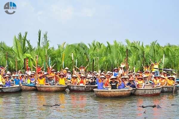 tour rừng dừa bảy mẫu 1 ngày từ huế