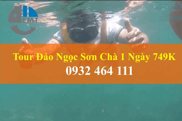 Tour Đảo Ngọc Sơn Chà 1 Ngày - Tour du lịch có giá chỉ 749K