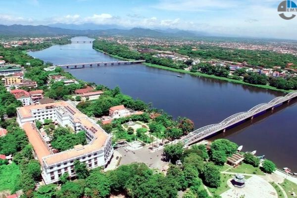 Khu nghỉ dưỡng Cồn Sơn: xây dựng tháng 6/2020 hoạt động tháng 3/2023