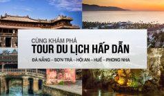 ✅Tour du lịch Huế – Phong Nha – Lăng Cô – Ngũ Hành Sơn – Hội An – Bà Nà