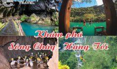 ✅Sông Chày – Hang Tối: Tour Khám Phá 1 ngày từ Huế
