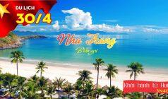 ✅Tour du lịch Lễ 30/04 – 01/05: Huế – Nha Trang – Huế